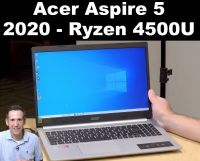 Acer Aspire 5 with Ryzen 4500U & RX 640 GPU