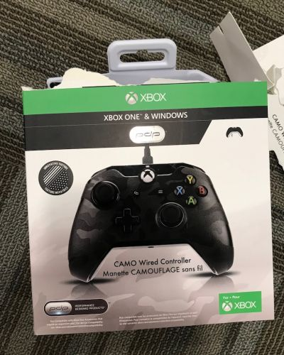 PDP Camo XBox Wired Controller