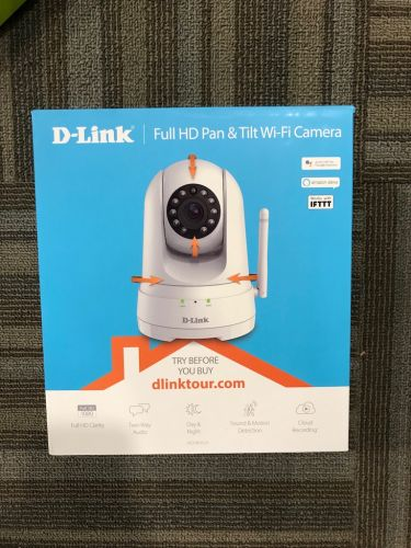 D Link Full HD Pan&Tilt wifi cam DCS-8525LH