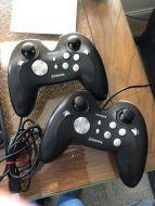 Pair of Gravis Eliminator Gamepads