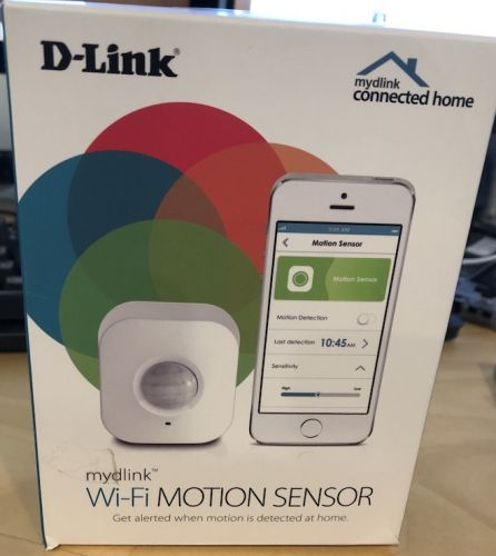 mydlink Wi-Fi Motion Sensor